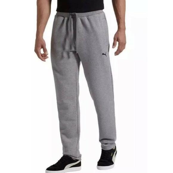 11b1bca049 PUMA Mens Fleece Pants Gray Boutique